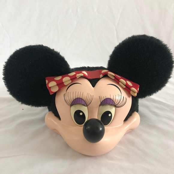 f2d50c55b0f Disney Other - VINTAGE Minnie Mouse Hat from Disneyland 1990